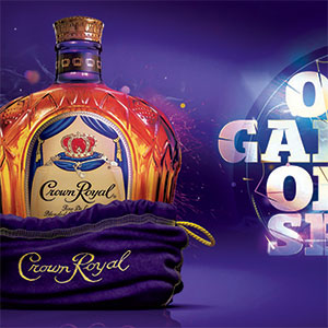 Crown Royal Event Display & Brand Design